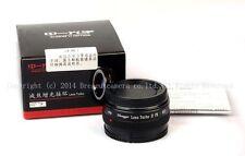 Mitakon zhongyi Reducer Adapter Turbo Focal II Pentax K P/K Lens-Sony NEX-5/6/7