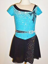 Custom Made To Fit Figure Ice Skating/ Baton Twirling Costume