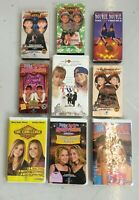 The Adventures of Mary Kate and Ashley Olsen 9 tape VHS Lot Videos FREE SHIP