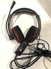 Turtle Beach Ear Force P11 Black/Red Headband Headsets for Multi-Platform