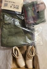 New Lot #MSD3 includes 1 Outfit and Boots by Doll Heart - fits MSD size BJD