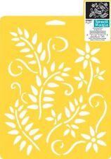 """Climbing Vines Stencil   Plaid:Delta  SM97-0620  Stencil Mania 7""""X10""""   NEW"""