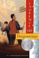 Dragonwings paperback book by Laurence Yep FREE SHIPPING  Dragon wings