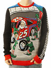 Ugly Christmas Party Sweater Unisex Men's Pit Crew Santa and Elves