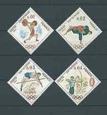 MONACO - 1964 YT 654 à 657 - TIMBRES NEUFS** LUXE