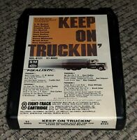 Keep On Truckin 8 Track tape cartridge REALISTIC STORE PROMO Radio Shack VTG