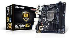 Gigabyte GA-H170N-WIFI Motherboard CPU i3 i5 i7 LGA1151 Intel DDR4 HDMI HTPC