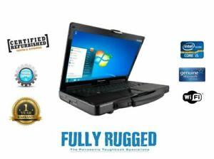 Panasonic Toughbook CF-53 Mk3 Rugged Laptop  i5 Win 7 or 10 4G Touchscreen