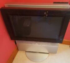 Retro Bang & Olufsen B&O BeoVision Avant TV 32 with built in VHS Motorised Stand