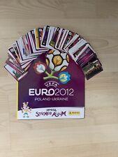Panini Euro 2012 Pick 15 Stickers From The Long List. UK/International Edition