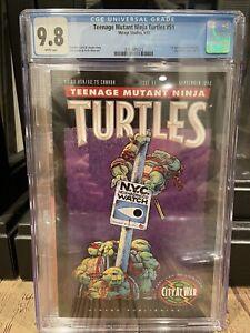 Teenage Mutant Ninja Turtles 51 Cgc 9.8 First Appearance Gabrielle 1st App Tmnt