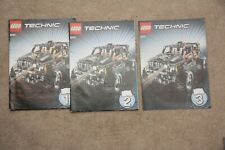 LEGO Technic 8297 Offroader / Buggy Instruction Books