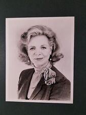 Lauren Bacall autographed Photograph - coa - pose 5