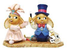 PenDelfin Rabbit Collectors Figurine - Madge & Ike # 52