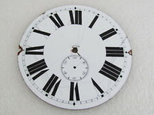 Watch White Porcelain Dial 92mm Watch-face Omega 8 Days Antique Swiss Pocket