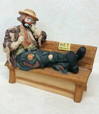 Flambro Emmett Kelly Jr Full Size Figurine 'Wet Paint' Limited Edition #5693