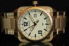 Renato Men's Quadro Aviator Swiss Quartz GMT Gold Tone Limited Production Watch