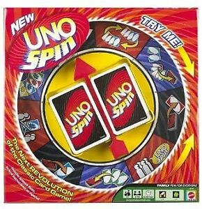 Uno Spin Game 2-10 Players