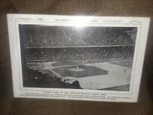 Illustrated Current News World Series 1920 opening day Cleveland vs Brooklyn