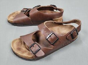 Birkenstock Birkis Brown Size 37 - L6,M4 Double Strap Sandals
