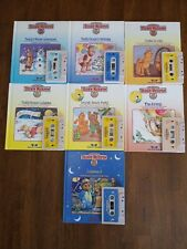 Lot of 7 Vintage 1980s Teddy Ruxpin Books and Cassette Tapes