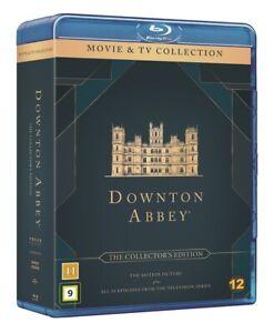 Downton Abbey The Complete Series + The Movie Blu Ray (Seasons 4,5,6 region B)