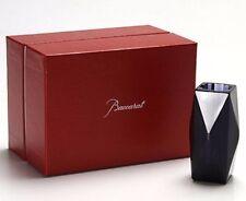 $180 Baccarat Crystal Louxor Midnight Candle Holder Stick 2607494 Bastide NIB