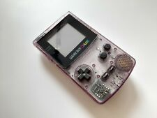 Nintendo Game Boy Color Konsole Lila Transparent | Gebraucht | BLITZVERSAND?