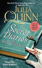 The Secret Diaries of Miss Miranda Cheever by Julia Quinn (2012, Paperback)