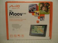 Mio Moov 300 GPS Touchscreen Navigation Device all 50 U.S states PUERTO RICO Map