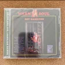 Roy Hamilton - Warm Soul - CD Album Reissue (2007) + Bonus Tracks - New + Sealed