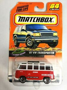 Matchbox  67 VW Transporter #64 of 100 Science Fiction Red White