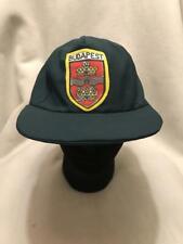 Vintage Budapest Hungary Strapback Hat Cap
