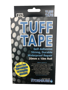 TUFF Tape Self Adhesive Waterproof Repair Roll 20mm wide x 10m long