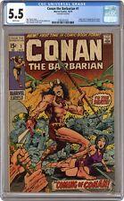 Conan the Barbarian #1 CGC 5.5 1970 3785261018 1st app. Conan