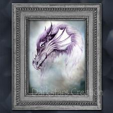 Magical Mystic Dragon - Medieval Fantasy Art Print - Darkstars Creation