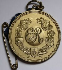 UK Queen Elizabeth Crowned 1953 Medal - Canada Rhodesia New Zealand South Africa
