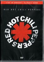 Red Hot Chili Peppers DVD Live In Concert Brand New Sealed