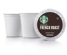 STARBUCKS French Roast Coffee K-Cups 144 ct Loose Pods Shipped Best By 3/2021