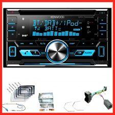 Kenwood DPX-7000DAB USB DAB+ Einbauset für Opel Astra H Corsa D Zafira B Antara