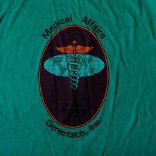 Vintage Genentech Inc Medical Affairs genetic engineering genetics DNA RNA Large