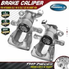 2x Brake Caliper Rear for Mitsubishi Colt MK4 Colt CZC RG Smart 454 2004-2012