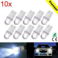 10x T10 Glassockel LED Auto Xenon Licht Lampe Innenraum Standlicht COB 12V Weiß