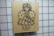 Wood Mounted Rubber Stamp - Close to My Heart / D.O.T.S.- Discontinued Stamps