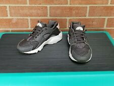 Nike Air Huarache Boys Cool Grey/White Size 4Y
