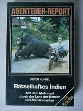 Abenteuer-Report, Rätselhaftes Indien, Mit dem Motorrad durch das Land der Be...