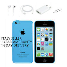 APPLE IPHONE 5C 16 GB BLUE NUOVA GARANZIA ORIGINALE SIGILLATO ITALIA