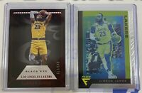 Lebron James Card Lot 2! Black Box /149 Red! (rare)! And Flux Chronicles.