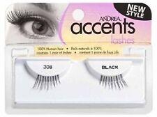 8 Pairs Andrea Modlash Accent 308 False Eyelashes Strip Lashes Black 23305