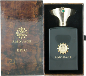 Epic By Amouage For Men EDP Cologne Spray 1.7oz New